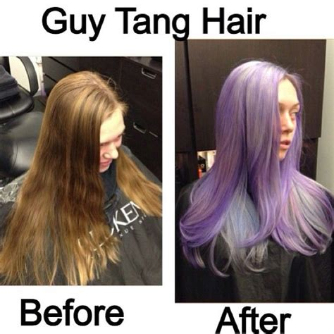 guy tang hair before and after before and after with pastel colors hair color ideas