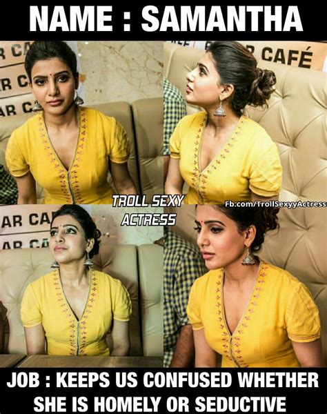 tamil actress hot troll images troll sexy actress on twitter quot samantha hot