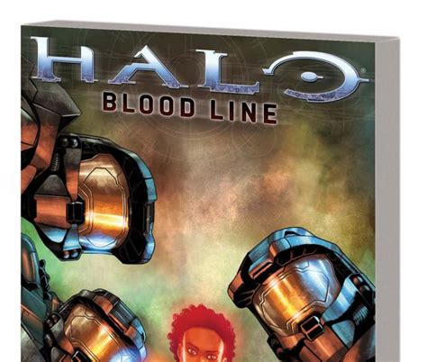 Halo Tp Blood Line Marvel Comics halo blood line trade paperback comic books comics