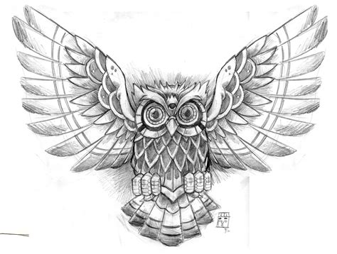 flying owl tattoo designs owl designs the is a canvas