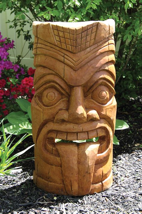 Asian Inspired Chairs 36 Quot Laughing Tongue Tiki Face Massarelli S