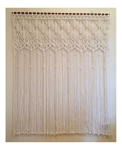 how to make macrame curtains 1000 images about macrame wall hangings on pinterest