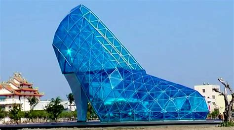 taiwan church shaped like a shoe a giant shoe shaped church to open in taiwan the indian