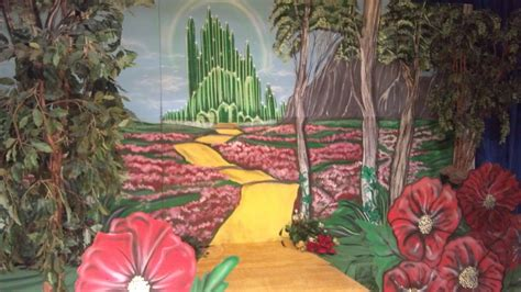 wizard of oz wall murals wizard of oz set mural library mural