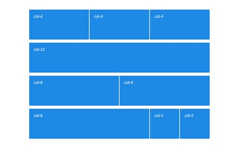 bootstrap layout left right what s new in the bootstrap 4 grid tutorialzine