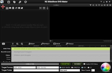 avi dvd burner full version free download screenshots of rz dvd creator and slideshow dvd maker