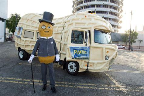 Planters Nut Mobile by Planters Nutmobile A Peanut Shaped Vehicle Helps Mr Peanut Tour