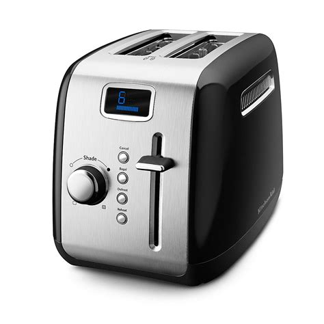 Toaster Oven Temperature Control Kitchenaid 2 Slice Toaster Bloomingdale S