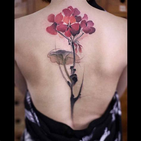 spine tattoos is the new floral back best ideas gallery