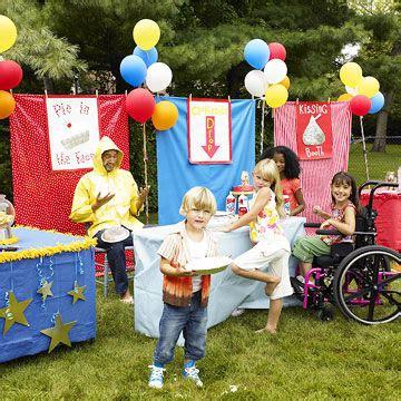 carnival party host  backyard carnival bash