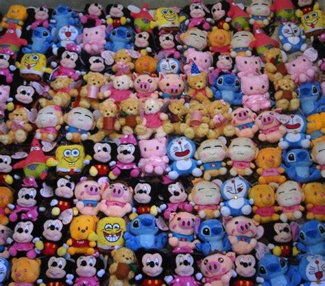Boneka Rekam Suara Recorded Toys Doraemon Mickey Minnie Rilakkuma Grosir China Barang Unik Boneka Rekam Piggy Mickey