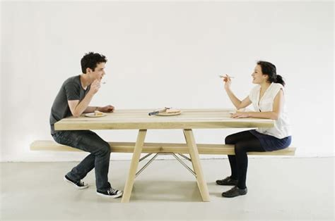 eating bench let s eat and play together with see saw table by marleen