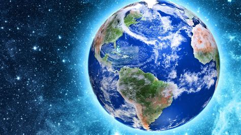 wallpaper  beautiful planet earth glow stars space