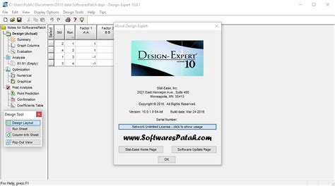 Design Expert 9 Free Download Full Version | design expert 10 crack patch serial key full download