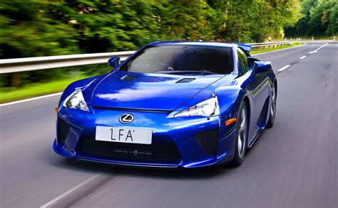 lexus lfa blue lexus lfa quot we could have sold more quot but expertise lives