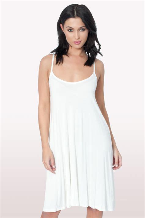 swing dresscode white cami swing dress dresses clothing modamore