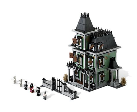 Home Front Porch Design by Haunted House 10228 Monster Fighters Lego Shop