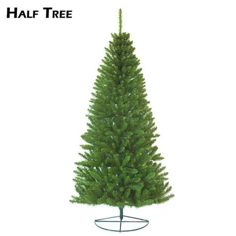 artificial half christmas trees restricted space