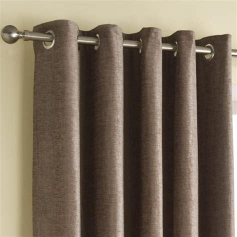 mink curtains buy rico chenille mink eyelet curtains online home focus