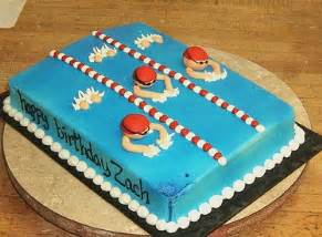 Summer Garden Party Decorations - swimming cake flickr photo sharing
