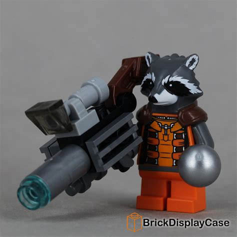 Lego Polybag Guardians Of The Galaxy Rocket Racoon Exclusive rocket raccoon guardians of the galaxy lego 76020 minifigure