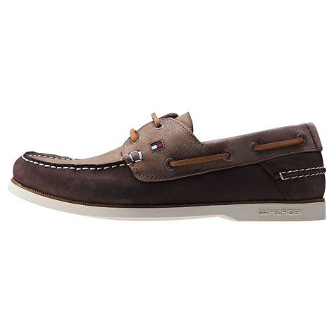 knots for boat shoes tommy hilfiger knot 1n mens boat shoes in coffee