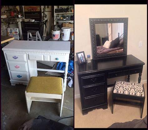 turn desk into vanity best 25 vanity ideas on