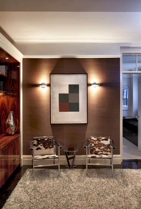 contemporary entryway design ideas remodels photos startling cowhide chair decorating ideas