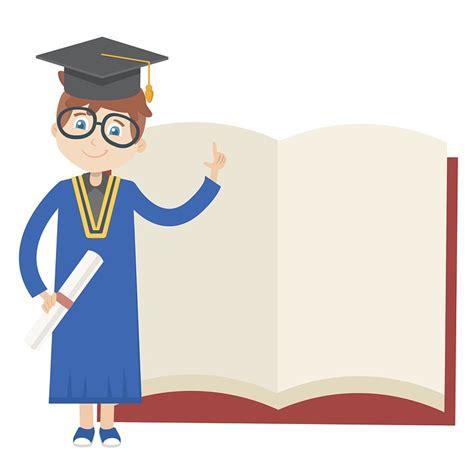 Office Desk For Kids Free Illustration Graduation Book Education Free