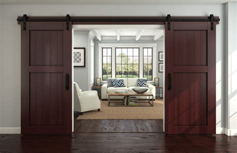 Barn Door Windows Decorating Interior Design New Ideas For Barn Doors Nj