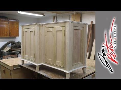 build a bathroom vanity cabinet part 2 jon peters art