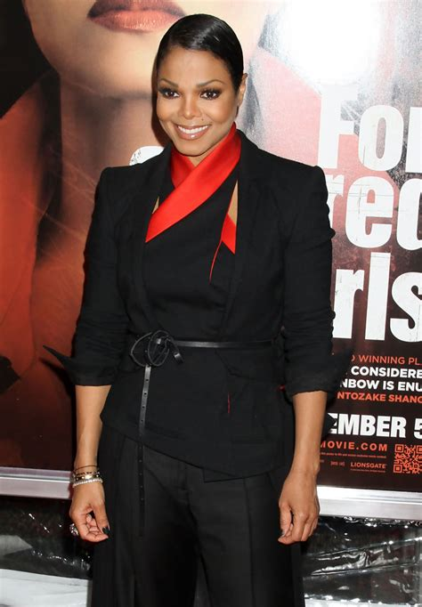 Janet Jackson For Colored Premiere janet jackson at the for colored premiere zimbio