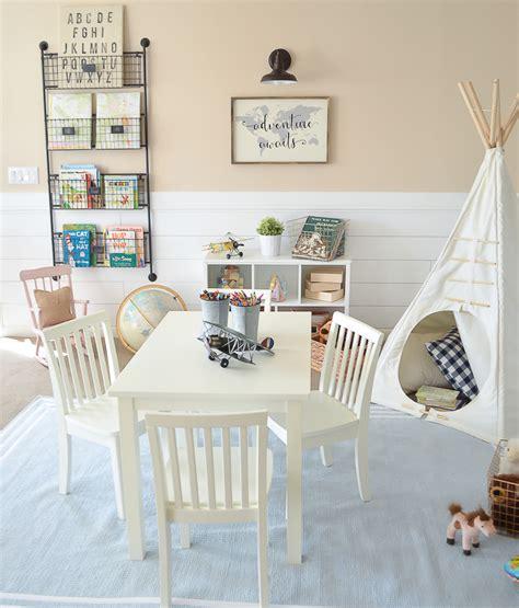 baby playroom modern farmhouse playroom