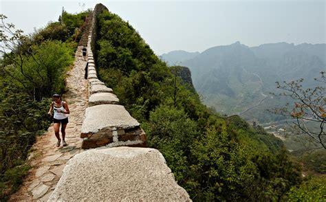 Jaket Biru Tua Cake sejarah dan keindahan great wall china