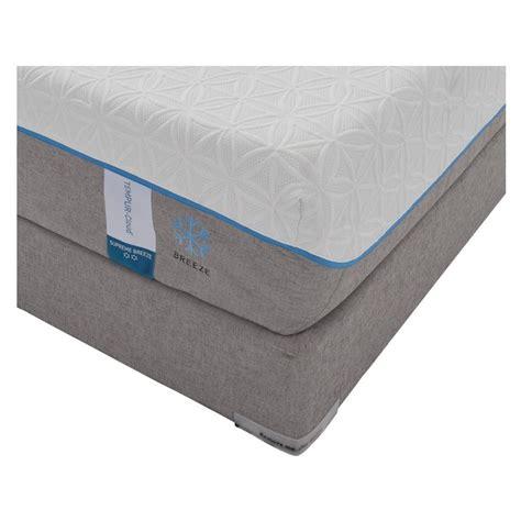 Tempurpedic Vs Regular Mattress cloud supreme memory foam xl mattress set w