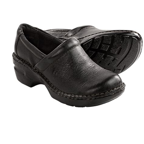 born clogs for b o c by born peggy leather clogs for 9392u
