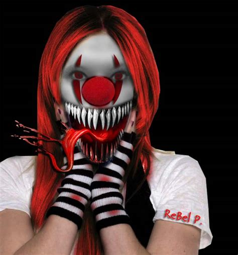 Why Do Find Clowns Scary The Scary Clown By Therebelprincess On Deviantart