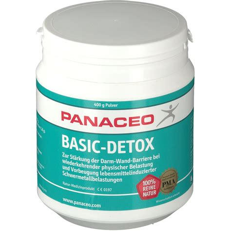 Detox Shoos by Panaceo Gesundheit Basic Detox Shop Apotheke At