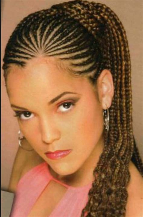 African Braids Hairstyles Pictures Ponytail | ponytail corn rows lena african hair braiding