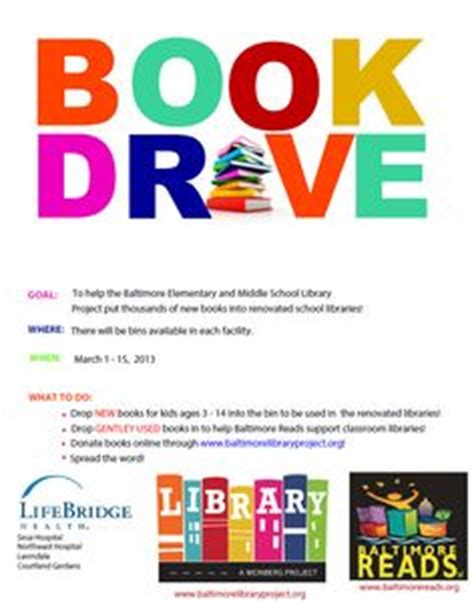 Book Drive Flyer Template Google Search Cps Community Pinterest Flyer Template Search Book Donation Template