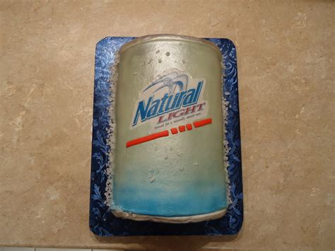 who makes natural light beer natural light beer can cake cakecentral com