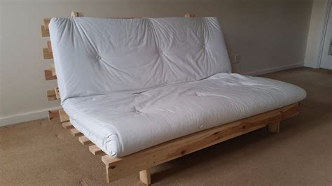 ikea wooden sofa bed ikea baltic wooden futon double size base and matress