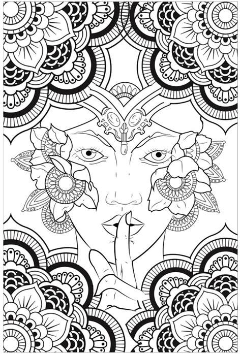 Bonitos Mandalas budistas y dibujos Zen para colorear los