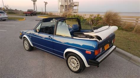 how petrol cars work 1987 volkswagen cabriolet seat position control no reserve 1986 volkswagen cabriolet wolfsburg edition for sale in daytona beach florida