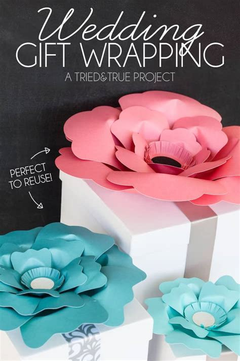 Best Wedding Gift Wrapping Ever!   Tried & True