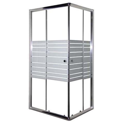 box doccia firenze box doccia florence 80x80xh180 cm profilo cromato vetro