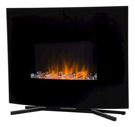 Menards Wall Mount Fireplace by Hometech 24 Quot Wall Mount Free Standing Electric Fireplace