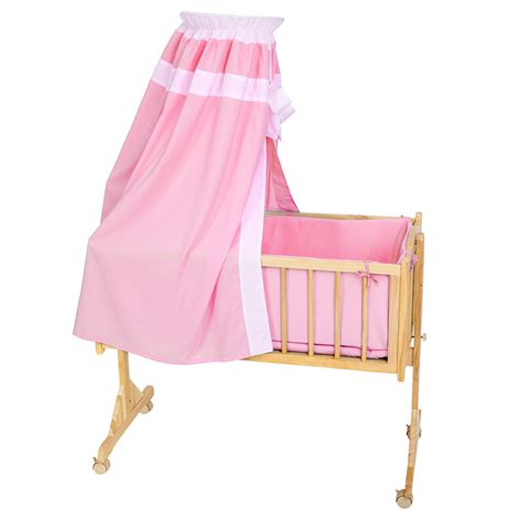 in bed bassinet baby swinging crib rocking cradle cot bassinet bed wood
