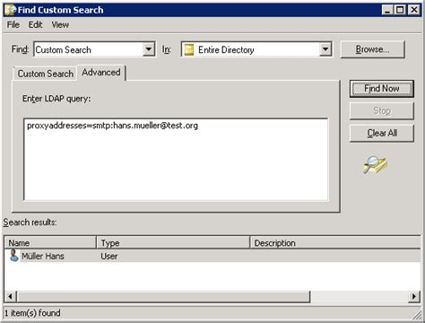 Email Directory Search Active Directory Josh S It