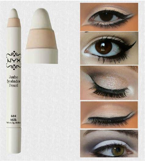 Nyx Jumbo White Pencil nyx jumbo eye pencil liner milk primer white eye